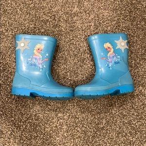 Kids Elsa rain boots